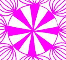 simple star neon pink Sticker