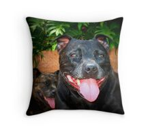 Lily Bet Throw Pillow