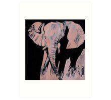 Charged - Elephant Art Print