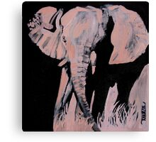 Charged - Elephant Canvas Print