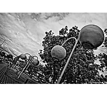 Donnybrook in Black and White Photographic Print