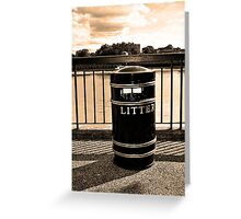 Keeping the Thames clean! (Print A) Greeting Card
