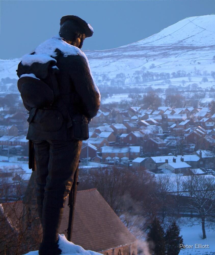 Clitheroe Soldier by Peter Elliott