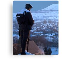 Clitheroe Soldier Canvas Print