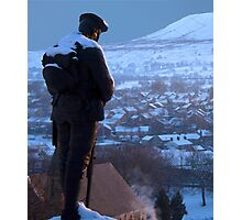 Clitheroe Soldier Photographic Print