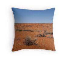 Simpson desert Throw Pillow