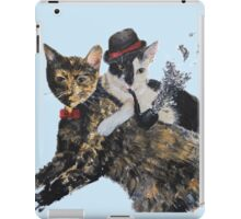 Gangsta Cats iPad Case/Skin