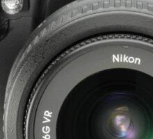 Nikon D5000 T-Shirt Sticker