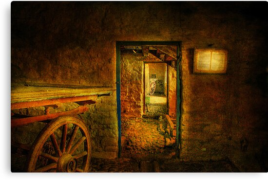 The Old Barn ! by Irene  Burdell