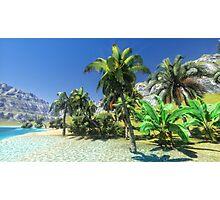 Hawaiian paradise Photographic Print