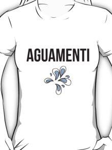 aguamenti - harry potter spell [colour] T-Shirt