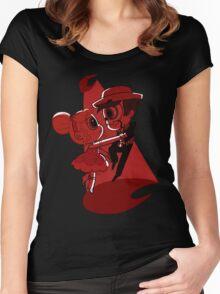 Blood Moon Waltz Women's Fitted Scoop T-Shirt
