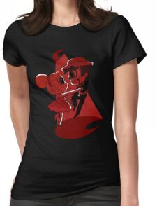 Blood Moon Waltz Womens Fitted T-Shirt