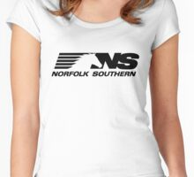 NORFOLK SOUTHERN Women's Fitted Scoop T-Shirt