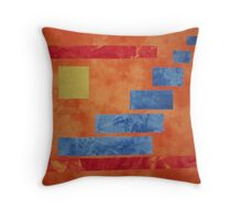 """Visions of Chaotic Butterflies"" Throw Pillow"