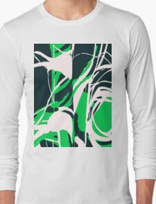 Abstract Splash Long Sleeve T-Shirt