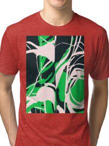 Abstract Splash Tri-blend T-Shirt