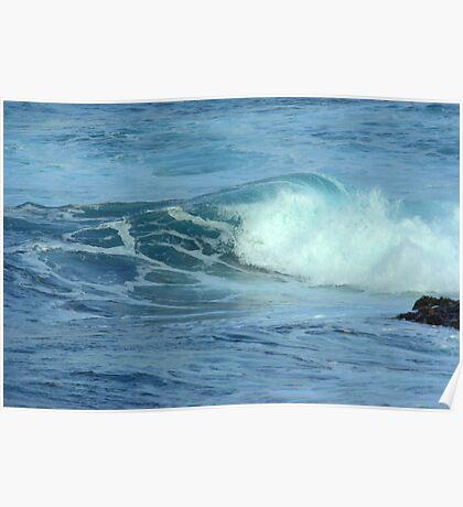 Ocean Swirl Poster