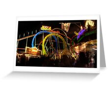 Rollercoaster at the Dom Greeting Card