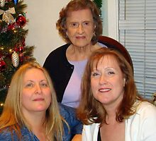 My Mother, I'm On the Left and my baby sister Pam by Wanda Raines