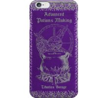 Advanced Potions Making iPhone Case/Skin