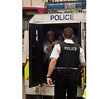 Under arrest Photographic Print