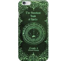 The Standard Book of Spells iPhone Case/Skin