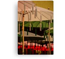 Hanging Umbrellas Canvas Print