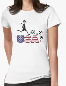 GO GO USA Womens Fitted T-Shirt