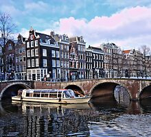 Amsterdam Canal by Nik Jowsey