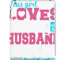 this girl loves fishing with her husband_2 iPad Case/Skin