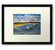 Broad Beach, Anglesey Framed Print