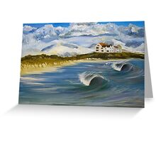 Broad Beach, Anglesey Greeting Card