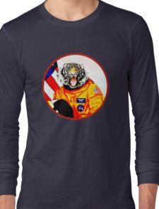Astronaut Tiger Long Sleeve T-Shirt
