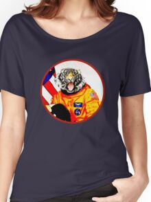 Astronaut Tiger Women's Relaxed Fit T-Shirt