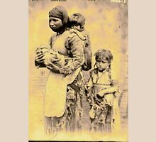 Armenian Mother & Children Escaping the Armenian Massacres of the late 19th century T-Shirt