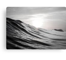 Motion of Water Metal Print