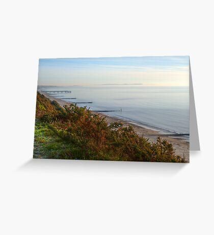 Sea view Greeting Card