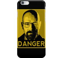 Danger White iPhone Case/Skin