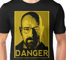 Danger White Unisex T-Shirt