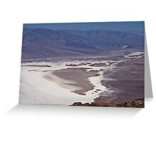 Dante's View, Death Valley Greeting Card