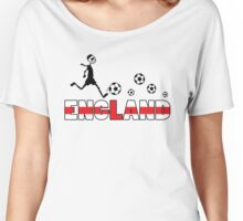 GO GO England Women's Relaxed Fit T-Shirt