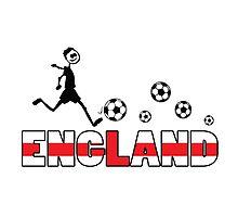 GO GO England Photographic Print