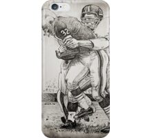 'Brown vs. Huff'  iPhone Case/Skin