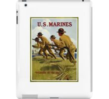 US Marines -- Soldiers Of The Sea iPad Case/Skin