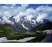 High Alpine Road. Photographic Print