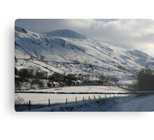 Vale of Keswick, Cumbria Metal Print