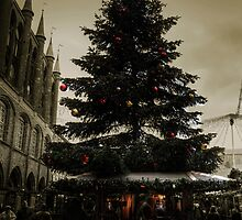 Christmas in Lubeck by Rob Hawkins
