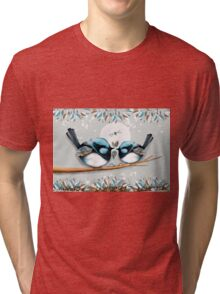 Blue Wrens Tri-blend T-Shirt