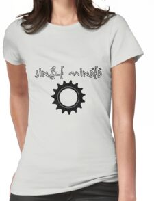 Single Minded Fixed Gear Tee Womens Fitted T-Shirt